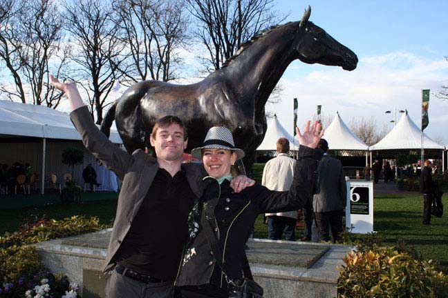 The Grand National with RED RUM